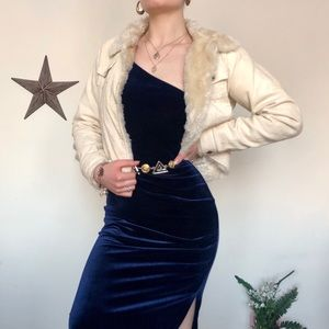 Jackets & Blazers - ✨BUNDLE ITEM✨Corduroy Faux Fur Cropped Jacket